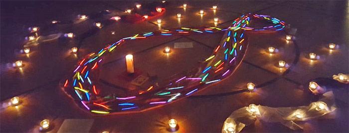 Kerzen Symbol Fisch © privat