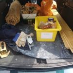 Bau eines Bienenhotels - Ferienspiele Sommer 2021 © privat
